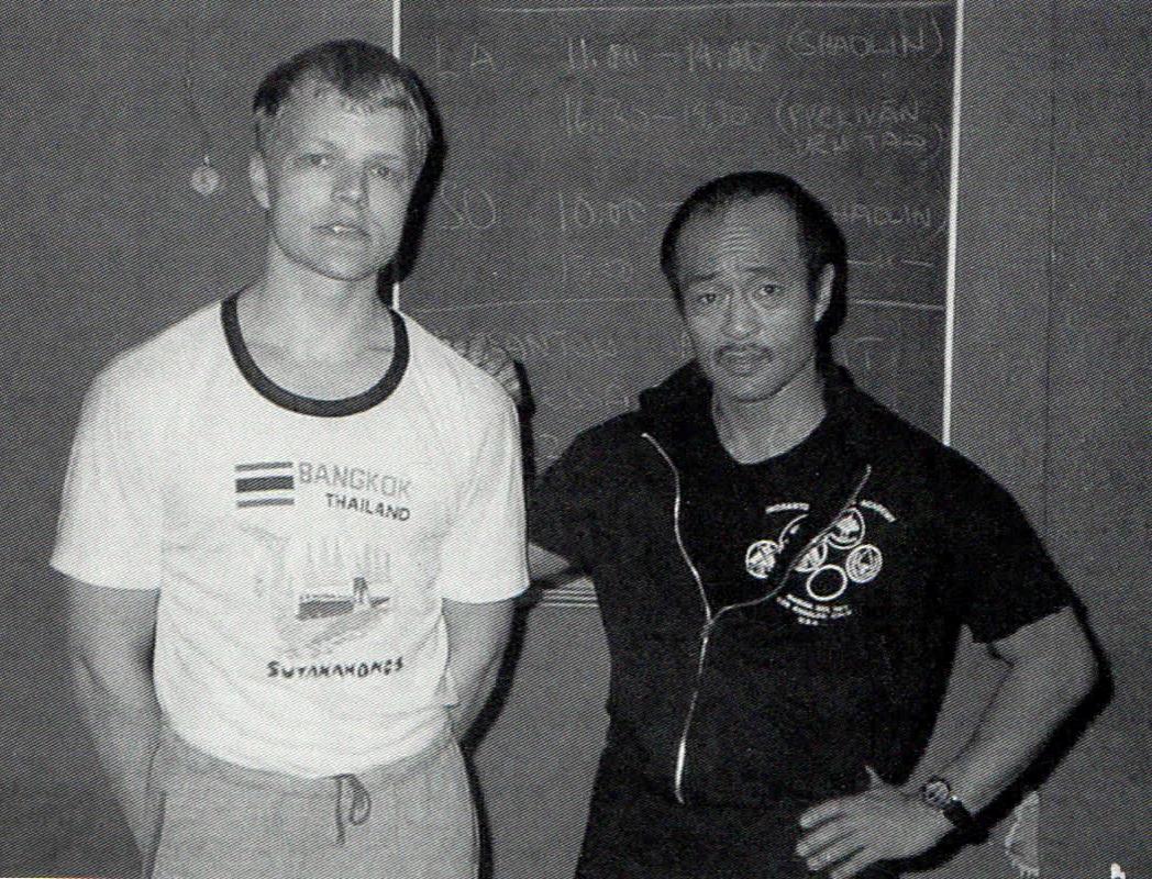 Jyrki Saario a Dan Inosanto